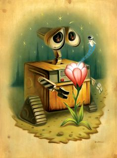 wall-e : one of my favorite movies :)