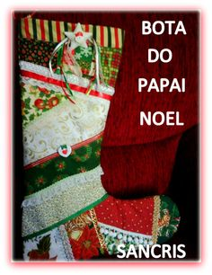 bota papai noel, SANCRIS SF-GONZALES@HOTMAIL.COM