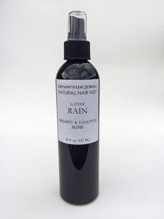LATTER RAIN BERGAMOT & EUCALYPTUS NATURAL HAIR MIST