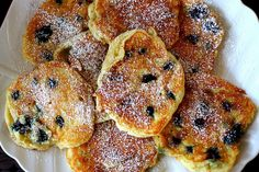 blueberry pancakes by smitten, via Flickr