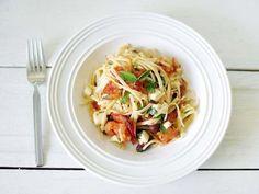 Pasta with Roasted Tomato Sauce