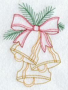 Machine Embroidery Designs at Embroidery Library! - Redwork - Multicolor (Christmas)