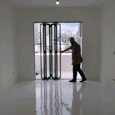 Balcony Glass Design, Door And Window Design, Room Door Design, Door Design Interior, Home Room Design, House Gate Design, Facade Design, Windows And Doors, Floor Covering