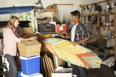 What is your clutter telling you? Find out what your clutter hotspots may mean and how to manage the mess in this WebMD slideshow. Spring Cleaning Organization, Home Organization Hacks, Garage Organization, Organized Garage, Organizing Tips, Sell Your Stuff, Things To Sell, Garage Sale Tips, Self Storage