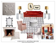 My graceful and feminine sitting room scheme.  #fifthwallfriday #ceilume #ceiling #interior #design #diy #livingroom