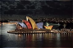 Lighting the Sails by Flickr user L Plater 2010