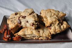 5-Spice Scones with Chocolate and Spiced Pecans recipe on Food52