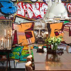 Painel fotográfico graffiti - StickDecor   Decoração Criativa