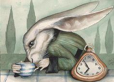 Illustrations to Alice in Wonderland Dominic Murphy Lewis Carroll, Alicia Wonderland, Adventures In Wonderland, Alice In Wonderland Illustrations, Rabbit Art, Rabbit Hole, Chesire Cat, Alice Madness Returns, White Rabbits