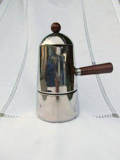 1970s Vintage Italian Percolator Lavazza Espresso by KrissVintage