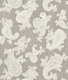 P. Kaufmann Chelsea Silver Fabric - $12.95 | onlinefabricstore.net