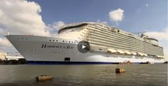 Video of the largest #cruise ship ever built, Royal Caribbean's Harmony of the Seas.