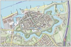 Zaltbommel (stad) - Wikipedia Star Fort, Walled City, Fortification, City Maps, Historical Maps, Rotterdam, Netherlands, City Photo, Castle