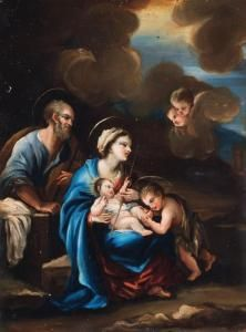 francesco lapi sacra famiglia con san giovannino