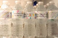 Love this cold-water bottle mission idea!  Summer come back...