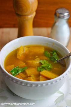 Sopa de Plátano (Plantain Soup)