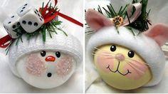 Karácsonyi cukiságok fillérekből - Hungarocell gömb, akrilfesték, polár anyag, vagy vatta, dekorfilc és egy kis vidámság.   Készíts egyedi karácsonyfadíszt otthon.    RECEPT: Egy kis idő ,…
