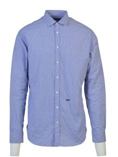 DSQUARED2 Dsquared2 Small Dot Checked Shirt. #dsquared2 #cloth #