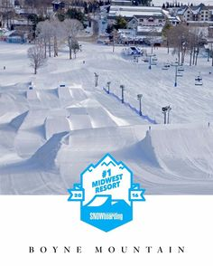 With six parks total including North Mclouth Ramshead and Transfer Station @boyne.mountain is one of the most diverse offerings in the region. This is why it took first place in this years Top 5 Midwest Parks. Check out the entire #ParkPoll2016 article in the November issue of TransWorld SNOWboarding out now.