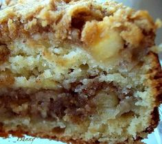 Apple Ricotta Cake - best coffee cake EVER! Now to make it GF. Apple Desserts, Apple Recipes, Just Desserts, Sweet Recipes, Delicious Desserts, Cake Recipes, Dessert Recipes, Yummy Food, Italian Desserts