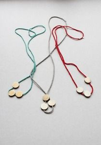 gifts to make:  necklaces.  these are by wsake