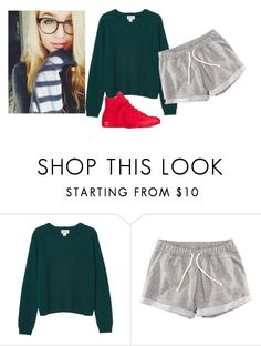"""""""RTD -Bella"""" by we-are-all-anons ❤ liked on Polyvore featuring Monki, H&M, Converse, men's fashion and menswear"""