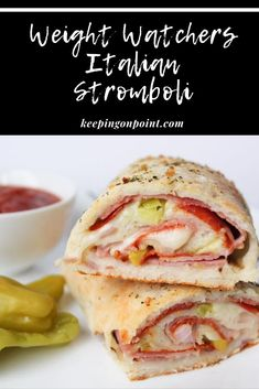Italian Stromboli – Weight Watchers Freestyle Italian Stromboli – Weight Watchers Freestyle,Weight watchers meals smartpoints Italian Stromboli – Weight Watchers There are images of the best DIY designs in the world. Weight Watchers Snacks, Weight Watchers Meal Plans, Weight Watcher Dinners, Weight Watchers Meatloaf, Weight Watchers Dressing, Stromboli, Ww Recipes, Other Recipes, Cooking Recipes