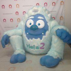 Botarga de Yeti famoso y espectacular hombre de las nieves sale de nuestro estudio y productora de personajes en Botarga.  Por todos aclamado y nunca fotografiado el famoso yeti