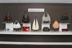 Kenneth Cole's handbag display @ the #HandbagAwards