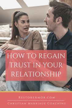 How To Regain Trust In Your Relationship - Restore Amor Healthy Relationship Tips, Marriage Relationship, Healthy Relationships, Funny Marriage Advice, Biblical Marriage, Advice For Newlyweds, Love Your Wife, Asking For Forgiveness, Christian Marriage