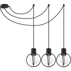 Druciana LAMPA wisząca AURA KOŁO 31085 Sigma industrialna OPRAWA zwis PAJĄK metalowy drut loft czarny Suspension Design, Chandelier, Ebay, Ceiling Lights, Loft, Lighting, Interior, Vintage, Home Decor