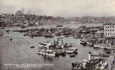 1910'larda Karaköy- Süleymaniye'ye bakış