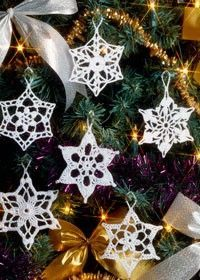 Snowflakes to crochet!