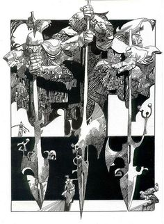 Sergio Toppi---GREAT FOR THE LEG