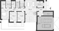 Proiecte gratis,Proiecte Case Parter Bungalow, Future House, New Homes, Floor Plans, 1, House Design, How To Plan, Building, Blog