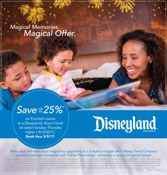 You can save up to on premium rooms at Disney's Grand Californian Hotel & Spa and the Disneyland Hotel, or up to at Disney's Paradise Pier Hotel on select Sun-Thurs nights Jan. Disney Discounts, Disney Deals, Disney Trips, Disney Travel, Disney Parks, Disneyland Resort Hotel, Disneyland Tips, Grand Californian, Travel Specials