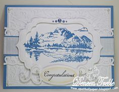 Spellbinders Nestabilities Cutting Dies Labels 4 Small NEW Crafts To Make, Fun Crafts, Paper Crafts, Wedding Labels, Wedding Cards, Spellbinders Cards, Close To My Heart, Creative Inspiration, Blue And Silver