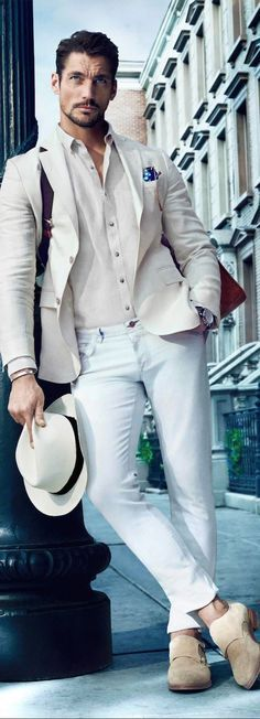 David Gandy menswear, men's fashion and style