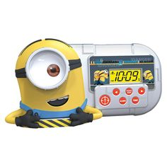 Despicable Me Minions Alarm Clock with Night Light