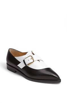 Nice. Bionda Castana 'Norma' Brogue Shoe available at #Nordstrom