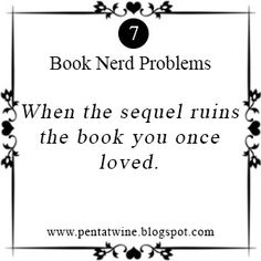 Book nerd problems week 7