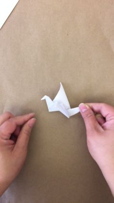 Origami Crane. Yippee. Finally, I think I can make one.