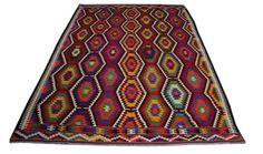Geometric Rug Floor Rugs Vintage Handmade Rugs by AreaRugsKilims