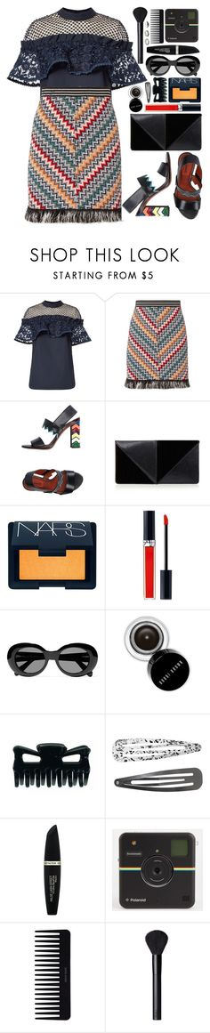 """#1140 Judy"" by blueberrylexie ❤ liked on Polyvore featuring self-portrait, Missoni, UN United Nude, NARS Cosmetics, Christian Dior, Acne Studios, Bobbi Brown Cosmetics, Monki and Max Factor"