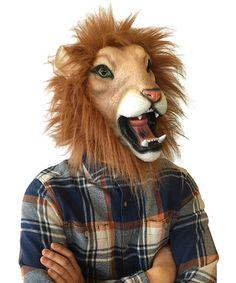 Lenny the Lion Mask #zulilyfinds
