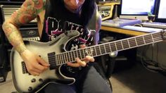 Black Veil Brides - In The End - Guitar Lesson with Jake Pitts