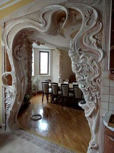 Art Nouveau doorwayYou are in the right place about Architectural Style modern Here we offer you the most beautiful pictures about the Architectural Style history you are looking for. When you examine the Art Nouveau doorway part of the picture you Architecture Art Nouveau, Beautiful Architecture, Art And Architecture, Architecture Details, Architecture Definition, Art Nouveau Arquitectura, Design Art Nouveau, Art Nouveau Interior, Art Nouveau Furniture