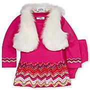 Little Maven™ 2-pc. Vest Set – Girls 6-24m