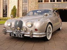 Paul Brown 1963 Jaguar MK2 by Keels and Wheels, via Flickr