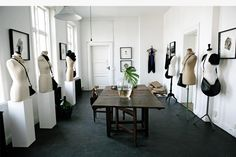 Ann Louise Landelius studio/show room